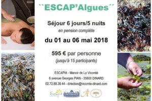 """Séjour """"Escap'Algues"""" du 09 au 14/10/2017"""